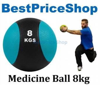 BPS 8kg Rubber Bounce Medicine Ball Gravity Balls