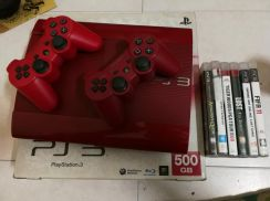 Ps3 superslim 500gb red edition