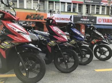 Honda beat 110 (wc to showroom)APPLY FREE