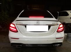 Mercedes W213 E63 AMG CARBN Diffuser Tail Pipe