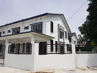 Freehold new double storey terrace house klang sg jati