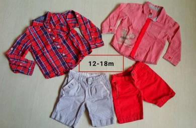Baby boy set ( Miki , Chicco )