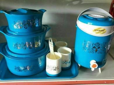 Hot pot + bekas air