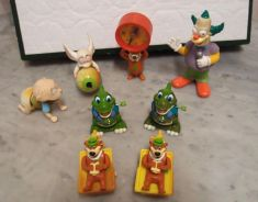 1980s LOT of 8 Burger King Collectible Toys