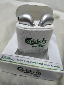 Calsberg bluetooth earphone