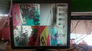 Brand ALHUA 4 channel CCTV