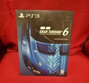 Ps3 Gran Turismo 6 Limited Edition