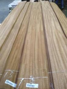 Mahogany wood veneer