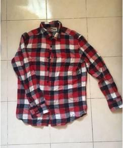 Uniqlo Flannel Boyfriend Shirt