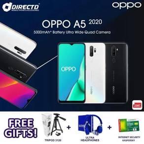 OPPO A5 (2020) 4GB/12GB | 5K Batteri + 3 Hadiah