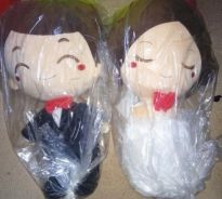 Good Quality Large Marriage Dolls,Bride,Groom,Cute