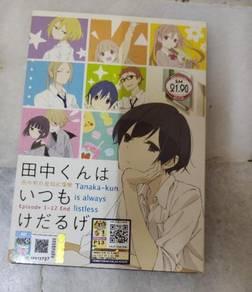 Anime DVD - Tanaka-kun is always listless