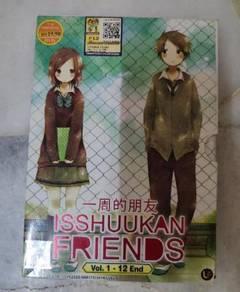Anime DVD - Isshuukan friends