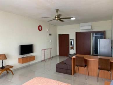 Apartment, Zennith Suites, Studio, Fully, Larkin, Johor