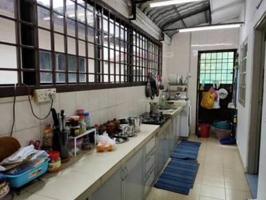 Taman delima double storey semi detached house