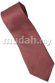 R03 Red Top Quality Solid Formal Neck Tie
