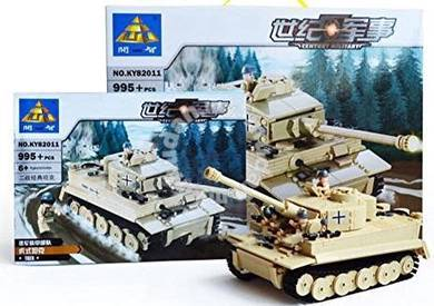 Bricks- Kazi KY 82011 Tiger Tank Heer