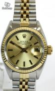 Rolex Date 6917 2tone Yellow Gold