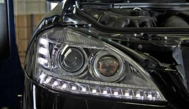 Mercedes S-KLASS W221 OEM facelift led head lamp