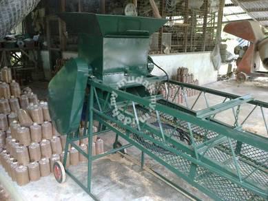 Mesin penghancur atau pengayak habuk kayu cendawan