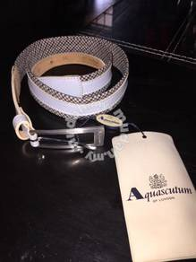 Aquascutum belt genuine leather NWT