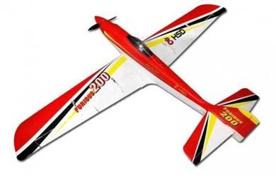 HSD Furious 200 High Speed Glider PNP(Red) AF-005R