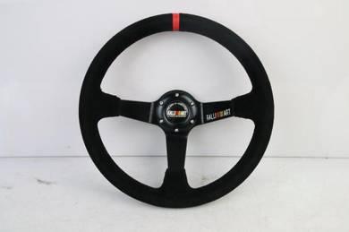 RallyArt 3 spoke Racing Sport Steering Wheel