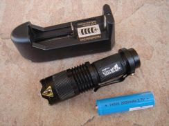 CREE Q5 LED Flashlight Torch Zoomable G