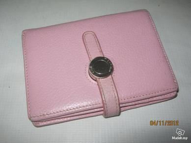 Authentic martina pink leather pursa