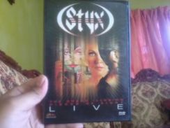 Dvd styx-the grand illusion,pieces of eight live