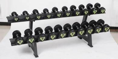 FIX DUMBELL complete set lengkap 2.5kg-25kg