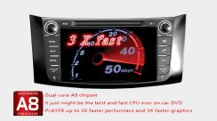 MXLL nissan teana dvd gps navigation bluetooth HD