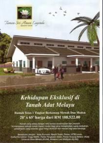 Masjid Tanah Rmh BARU 1 Tkt Dpn Kolej Komuniti - FULL LOAN