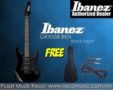 New Ibanez Electric Guitar GRX55B BKN - Black