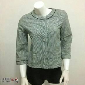Japanese Style Blouse 3/4 sleeve