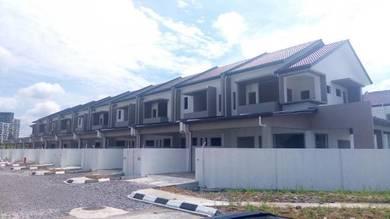 Double Storey Terrace Corner at Central City at Kuching-Samarahan Road