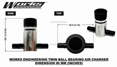 Works Twin Ball Bearing Air Charger Mini Turbo 2