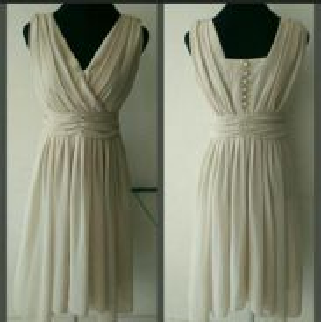 Beige Midi Dress(Reserved)