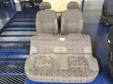 Perodua kelisa seat complete set