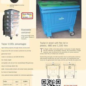 Taylar brand hot dipped galvanized steel bin1