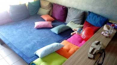 Unique Living Room Sofa Set With Storage Space