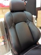 Perodua myvi 2018 semi leather seat cover RORENZO