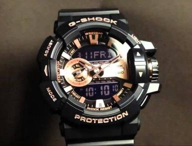 Watch- Casio G SHOCK ROSE GOLD GA400GB-4-ORIGINAL