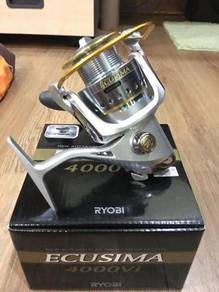 Ryobi Ecusima 1000 - 8000 Fishing Reel Pancing