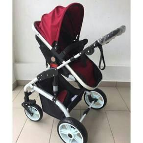 Stroller like new Pakai dekat mall je 3/4x