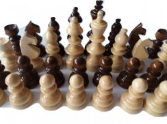 New big handmade chess piece set king 12 cm