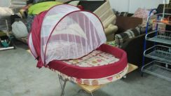 Baby Bed with Net Sweet Cherry * 7-10 A