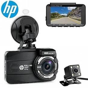 HP Car Camcorder 1080P F870G & Rear Camera 720P