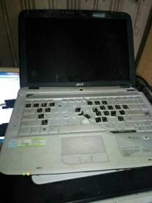 Laptop acer 4715z sparepart