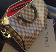 LOUIS VUITTON Damier Ebene bag ( GENUINE)